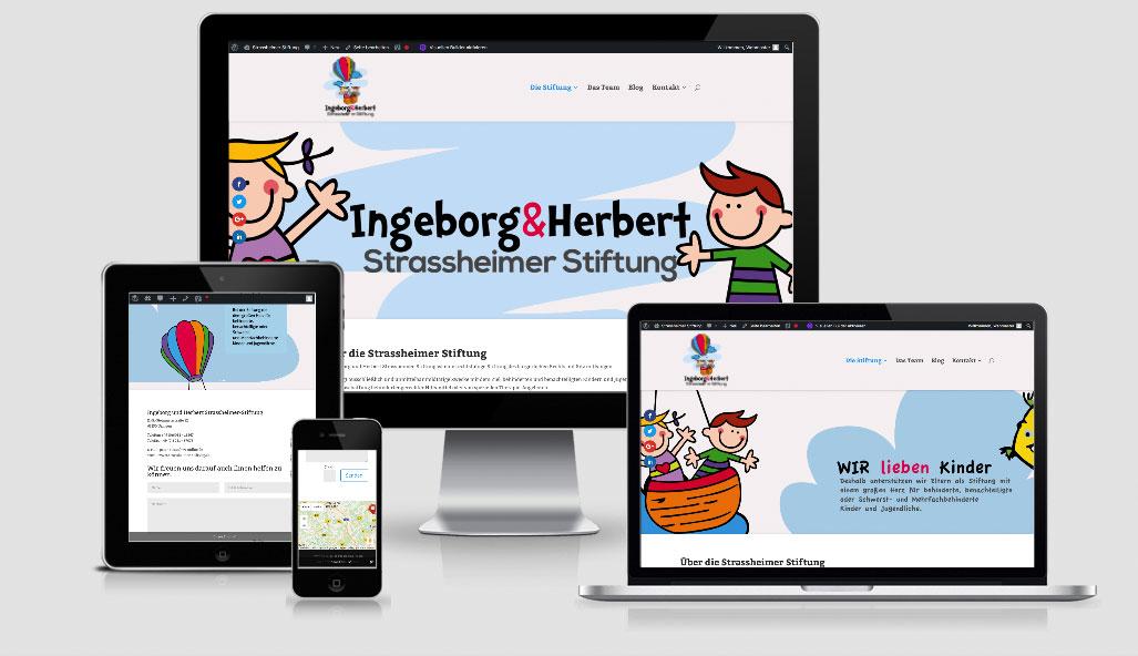 Neue Homepage der Ingeborg und Herbert Strassheimer Stiftung